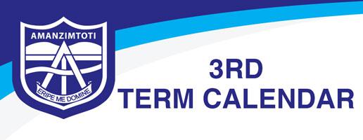 3rd term calendar